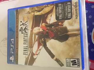 Ps4 Game Final Fantsy Type-0