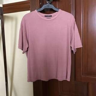 Brandy Melville Aleena Top Pink