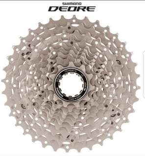 Shimano Deore 10 Speed Cassette