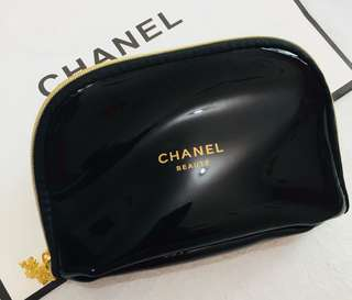 Chanel 化妝袋 漆皮 (細)