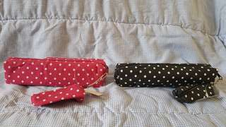PENCIL CASE WITH COIN PURSE KEYCHAIN (50 PESOS EACH)