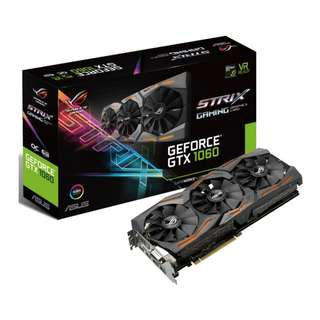 Asus ROG Strix GeForce GTX 1060 OC edition 6GB GTX1060