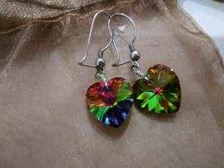(Preloved) earring swarovzki