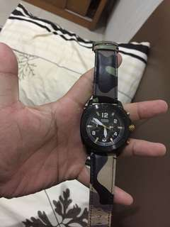 fossil watches ORI  ( strap custom )