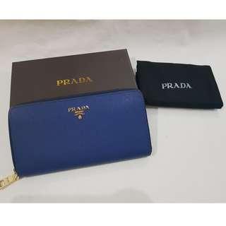 Prada Wallet (Blue) PREMIUM QUALITY
