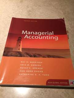 Managerial Accounting TB (SMU)