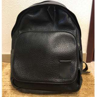 *Brand New* Calvin Klein Textured Leather Backpack 全新皮背包