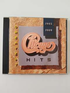 CD(SOLD) Chicago Greatest Hits 1982 - 1989