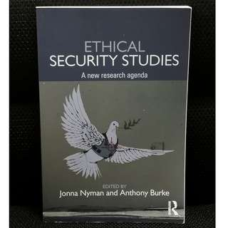 SUSS/ UNISIM Security Studies Readings Ethical Security Studies