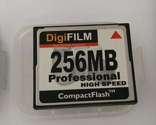 256MB compact flesh card CF