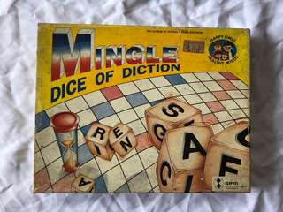 Mingle Dice Of Diction Vintage