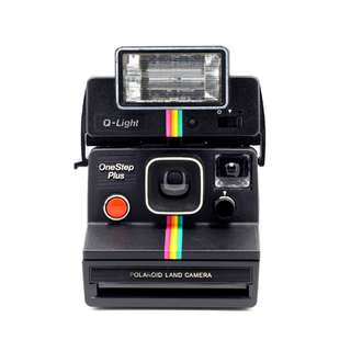 Polaroid Black Rainbow Land Camera