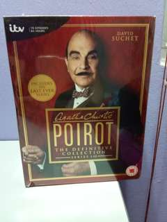 Agatha Christie's Poirot Series 1-13: The Definitive Collection DVD