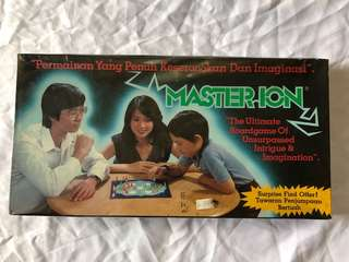 MASTER ION board game