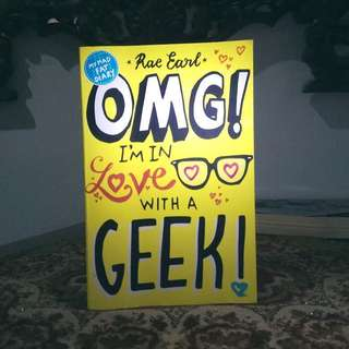 novel omg i'm in love with a geek (bahasa inggris)