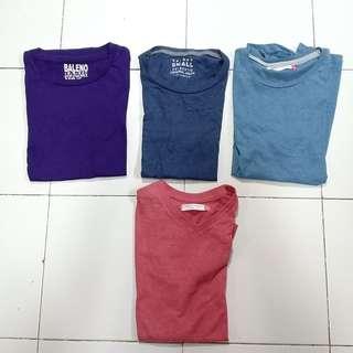 Assorted Plain Shirts Penshoppe Baleno
