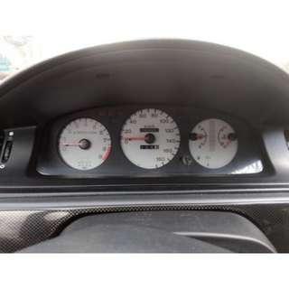WTB EG White Face JDM Speedometer