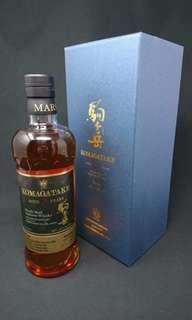 駒 岳 27年 Komagatake Whisky 日本威士忌