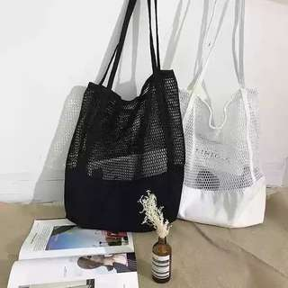 Tumblr Mesh Tote Bag