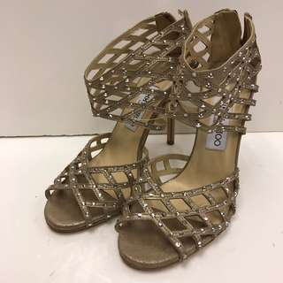 Jimmy Choo Seude Sandals