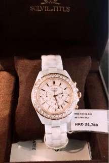 全新絕版1隻👑鐵達時陶瓷腕錶。不議價