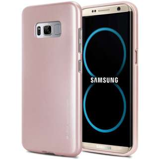 🚚 Goospery Samsung S8+ Plus i-Jelly Metal Case (Authentic)