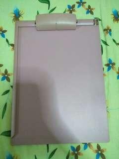 Pink clipboard