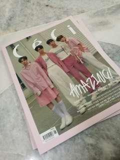 Ready Stock Wanna One Ceci Magazine
