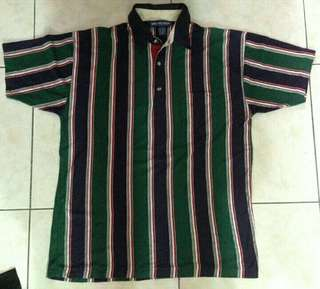 Authentic VAN HEUSEN Vintage Stripes Collared Polo Shirt
