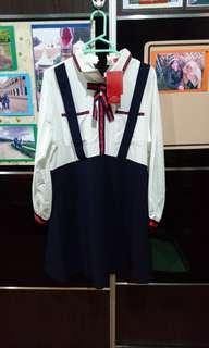 Japanese Uniform Dress (Plus Size)