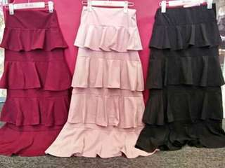 Skirt Ruffle labuh