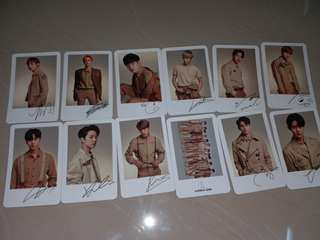 [READY STOCK] WANNA ONE OFFICIAL MD POLAROID