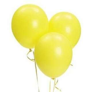 Yellow Balloons (non-inflated)