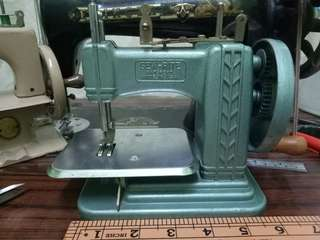 Sew-Rite 1950s Chain Stitch Antique Sewing Machine Mesin Jahit Antik Made in USA