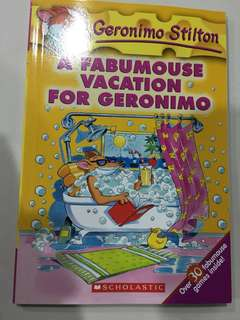 🚚 Geronimo Stilton - A Fabumouse Vacation for Geronimo