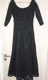 Black Lace Dress. Priced to Clear.
