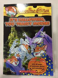 🚚 Geronimo Stilton - It's Halloween, You 'fraidy Mouse!