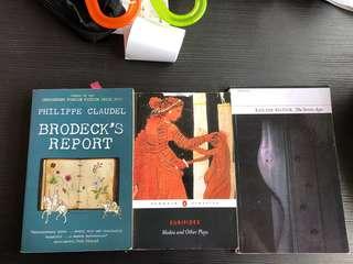 Literature Books Medea Louis Glück 7 Ages Brodeck's Report