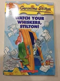 🚚 Geronimo Stilton - Watch your whiskers, Stilton!