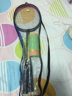 Badminton rackets with free 3 shuttles