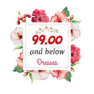 99 BELOW Dresses