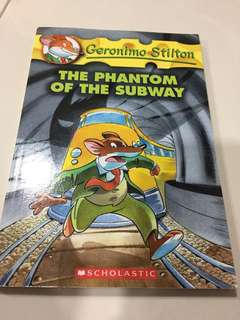 🚚 Geronimo Stilton - The Phantom of the Subway