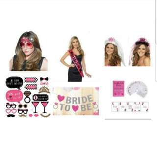 Hens / Bachelorette Night Accessories