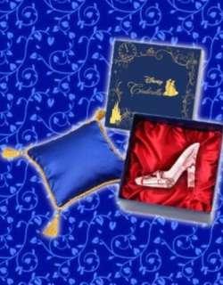 日本直送 東京迪士尼灰姑娘水晶鞋擺設