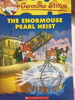 🚚 Geronimo Stilton - The enormouse pearl heist