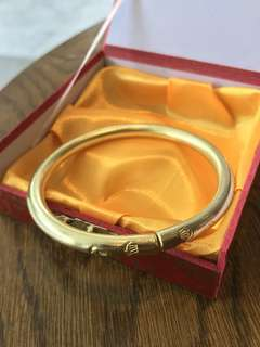 Pure copper bangle
