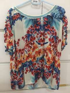Floral Stradivarius Top