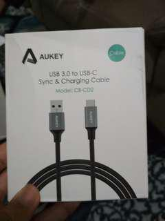 Cable Aukey USB 3.0 to USB-C / type C