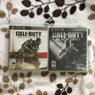 Call of Duty (Advanced Warfare / Black Ops II)