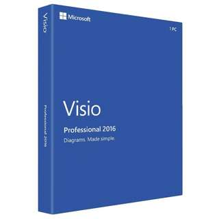 Visio pro 2016!!!(link to your Microsoft account)